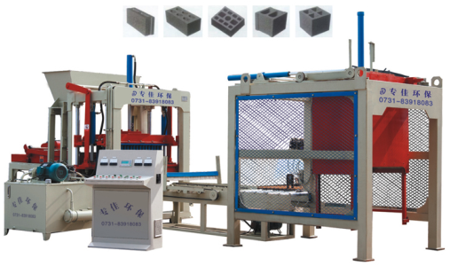 SH-QTY5-15Fully Automatic Block Making Machine